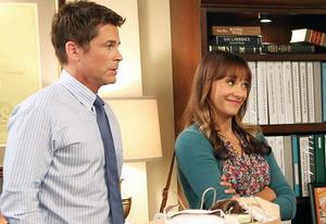 Rob Lowe and Rashida Jones | Photo Credits: NBC