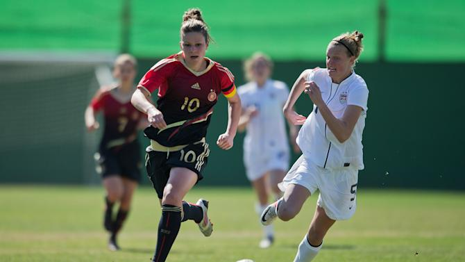 U19 USA v U19 Germany - Women's U19 Tournament