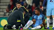 Gabriel Jesus could be set for a long spell on the sidelines following his bright start to life at Manchester City.