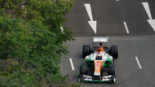 2013 GP of Singapore Force India Di Resta