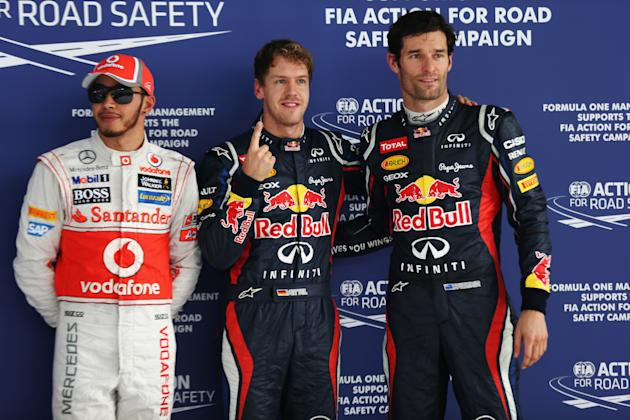 F1 Grand Prix Of India - Qualifying