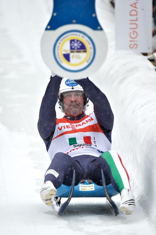 Italy's Armin Zoggeler Hits AFP/Getty Images