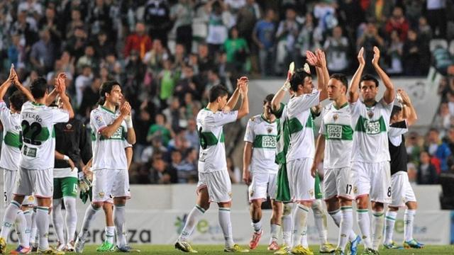 Liga - Elche back in top flight after 24-year absence