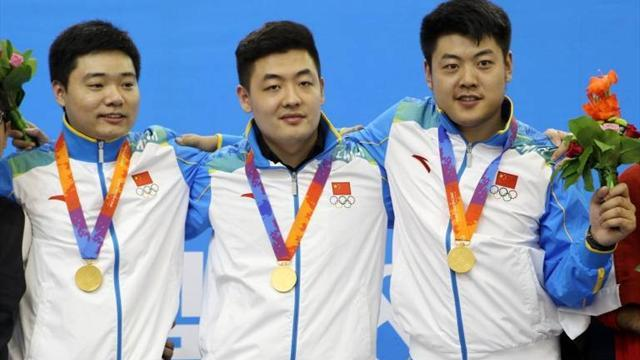 Snooker - China win snooker gold at Asian Indoor Games