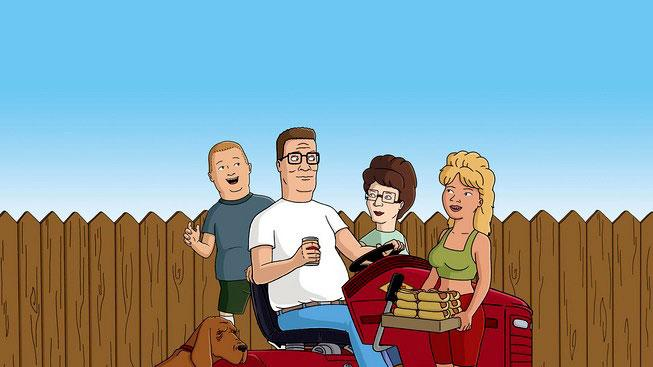 The cast of King of the Hill on FOX.
