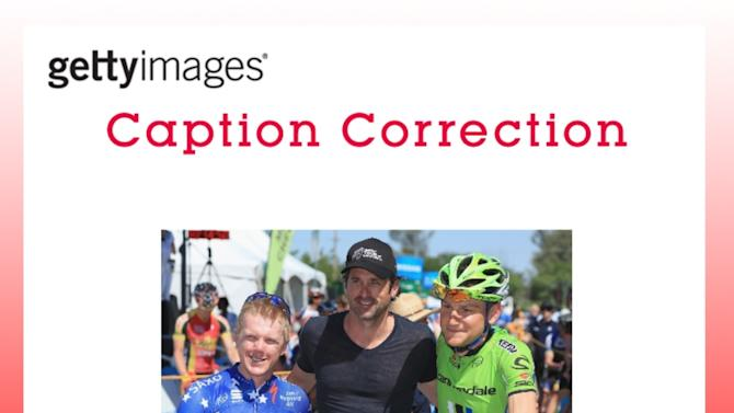 CAPTION CORRECTION: Tour of California - Stage 2