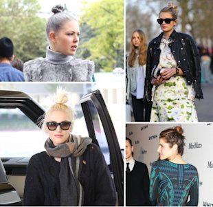 The rise of the ballerina bun