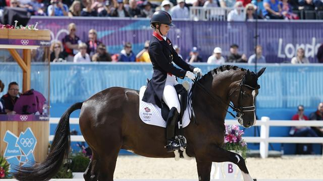Gold for Brit Dujardin in Olympic dressage