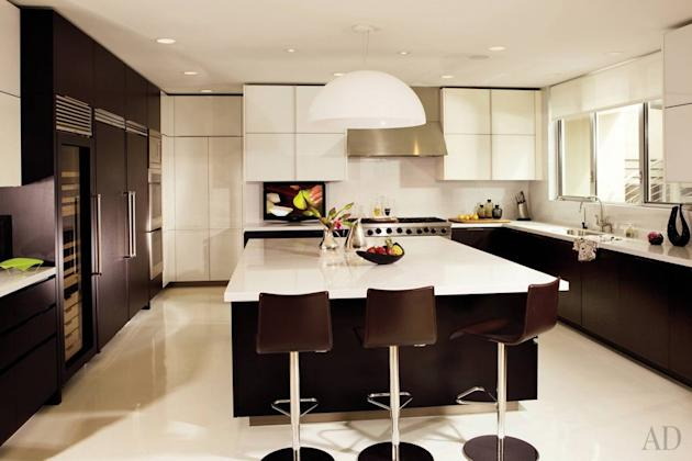 Celebrity kitchens from Architectural Digest giada de laurentiis