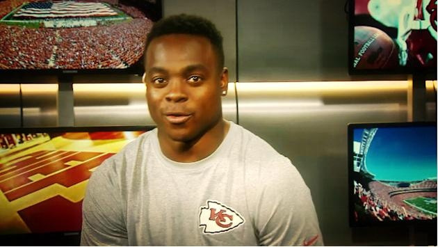 Kansas City Chiefs wide receiver Jeremy Maclin: 'I just want to thank my peers'