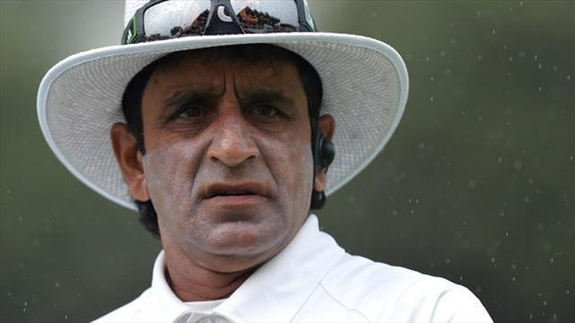 Cricket - Rauf withdrawn from Champions Trophy by ICC