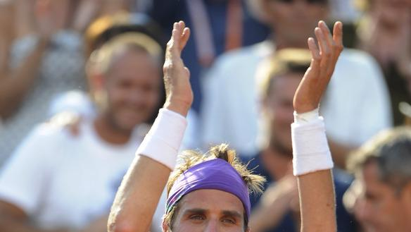 (FILES) A File Picture Taken On May 28, 2012, At The Roland Garros Stadium In Paris, Shows France's Arnaud Clement  AFP/Getty Images
