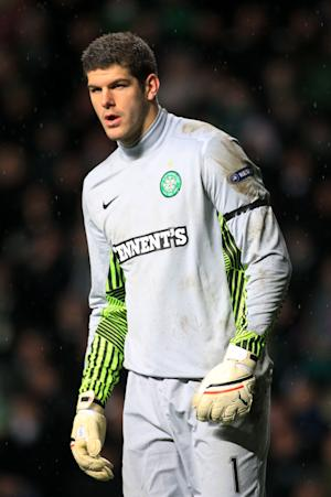 Celtic goalkeeper Fraser Forster has been rewarded for his good form with an England call-up