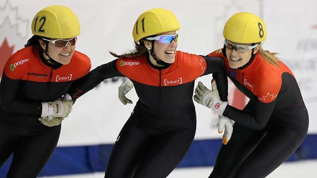 Short Track - Canada taste gold in huge medal haul