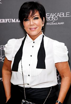 "Kris Jenner ""Test Drives"" a Casket When Planning Her Funeral"