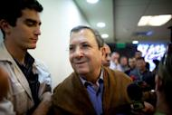 """Israeli Defence Minister Ehud Barak, pictured in April 2012, said it was crucial to act before Iran reached that point. """"It is impossible to sleep in peace when the Iranians are systematically moving towards the point after which Israel will not be able to do anything about it,"""" he said"""