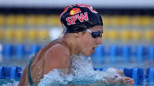Swimming - Australia's former Olympic champion Rice retires at 25