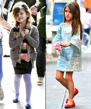 Suri Cruise and Honor Warren Wear the Same $315 Shoes