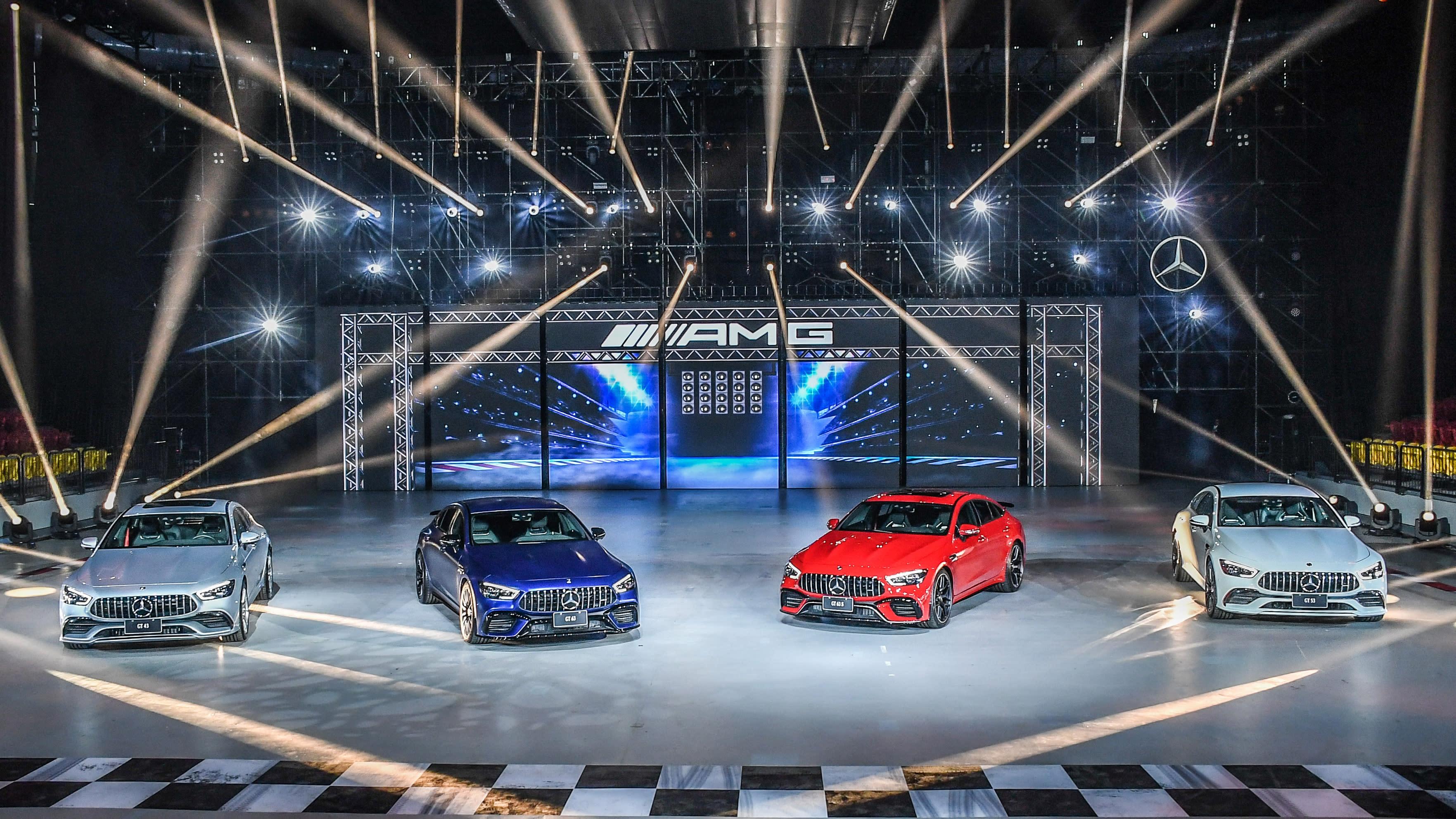 AMG至尊紳士 嶄新亮相 | AMG GT 4-Door Coupe