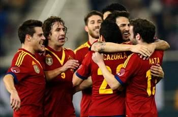 Spain 3-1 Uruguay: Prolific Pedro nets twice for world champions in Doha