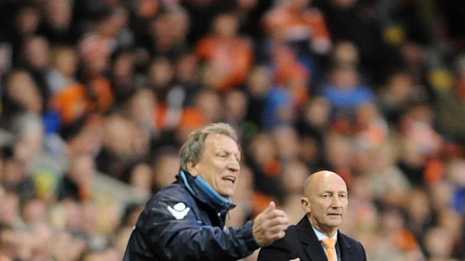 Neil Warnock, left, hopes to make it two wins from two when Leeds face Blackpool