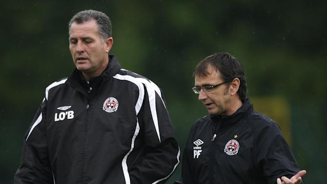 Pat Fenlon (right) and Liam O'Brien
