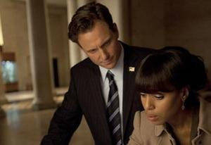 Tony Goldwyn, Kerry Washington | Photo Credits: Randy Holmes/ABC
