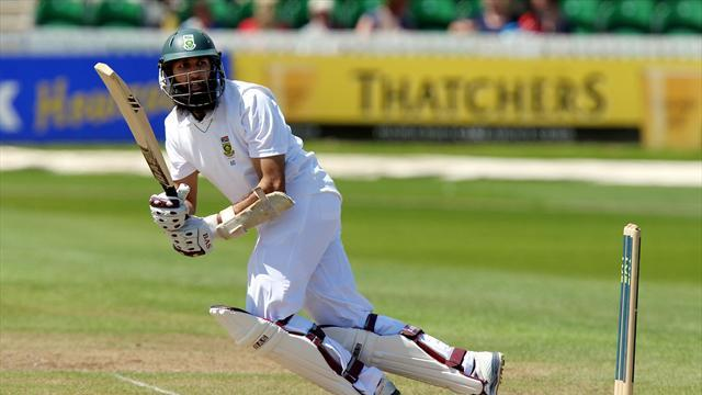 Cricket - Amla leads the charge for South Africa