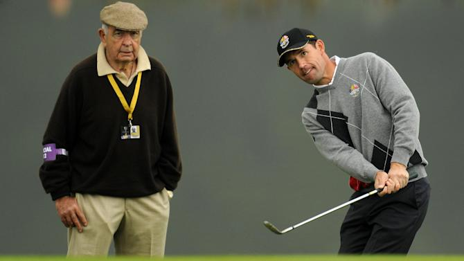 Golf - Harrington and McGinley lead Torrance tributes