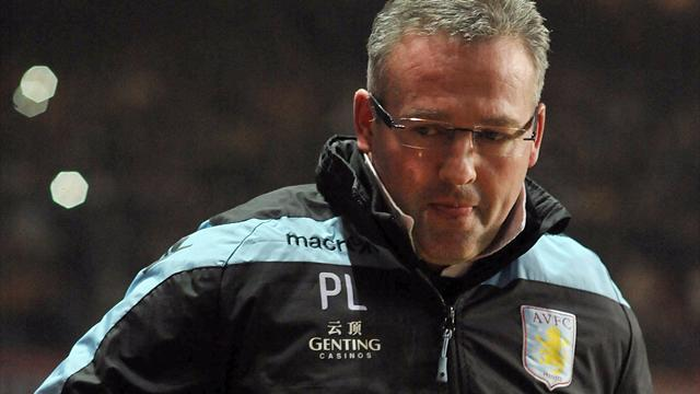 Premier League - Lambert lambasts lazy Villa