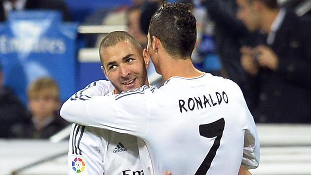 Liga - Benzema: Ronaldo the best in the world