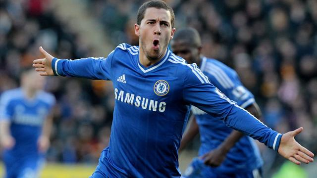 Champions League - Hazard gives Chelsea hope of PSG turnaround