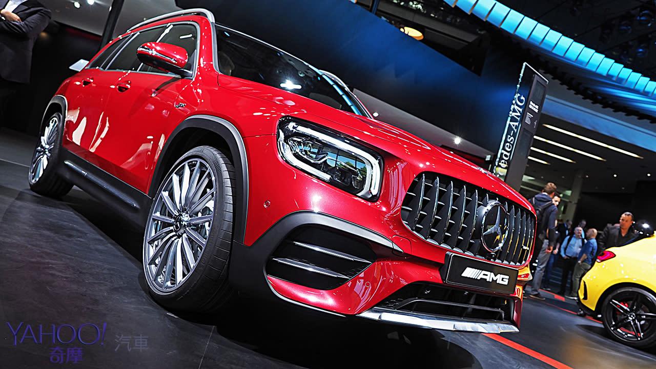 【2019法蘭克福車展】無法定義的空間款三芒星!Mercedes-Benz GLB車系展現星世代乘坐風