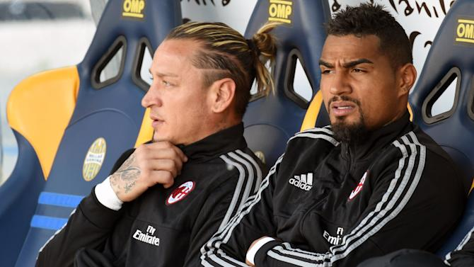 Kevin-Prince Boateng set for AC Milan axe, confirms president