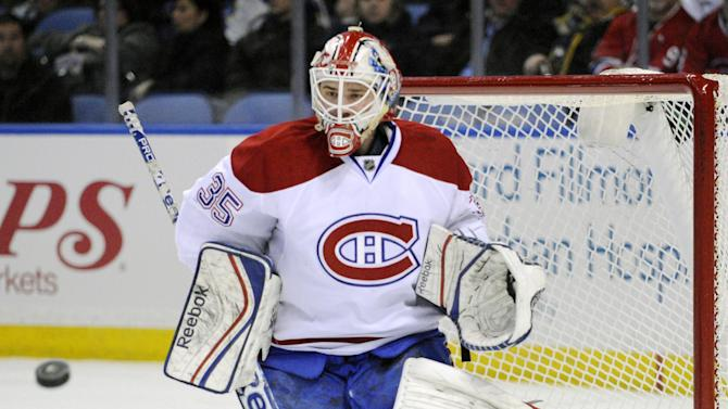 Tokarski stops 29 in Habs' 2-0 win over Sabres