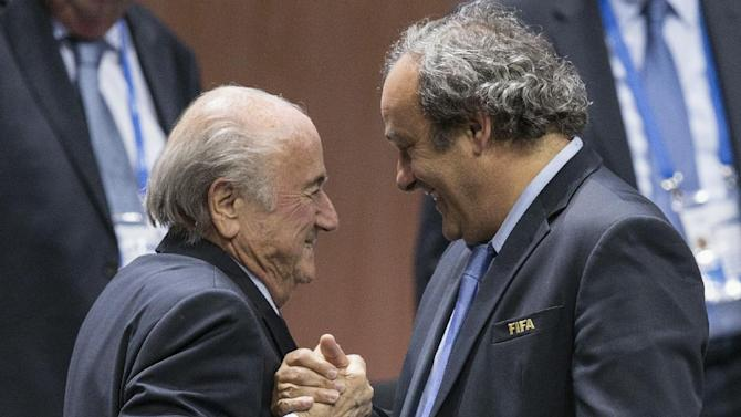 Asia football chief praises Platini as potential FIFA boss