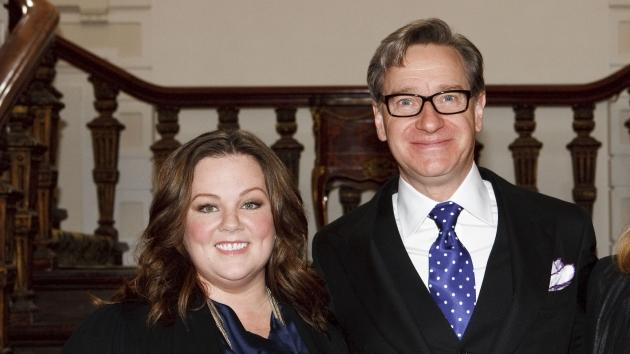 Melissa McCarthy and Paul Feig attend the photocall for 'Bridesmaids' at Amstel Hotel on June 6, 2011 in Amsterdam, Netherlands -- Getty Images