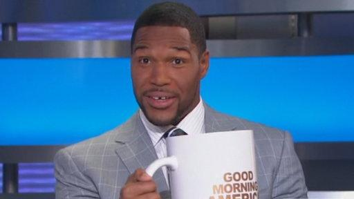 "Michael Strahan Joins ""GMA"""