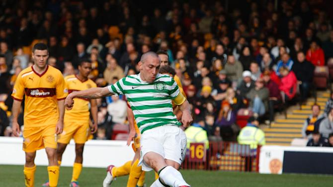 Celtic's Scott Brown is hopeful of a return to the Scotland squad