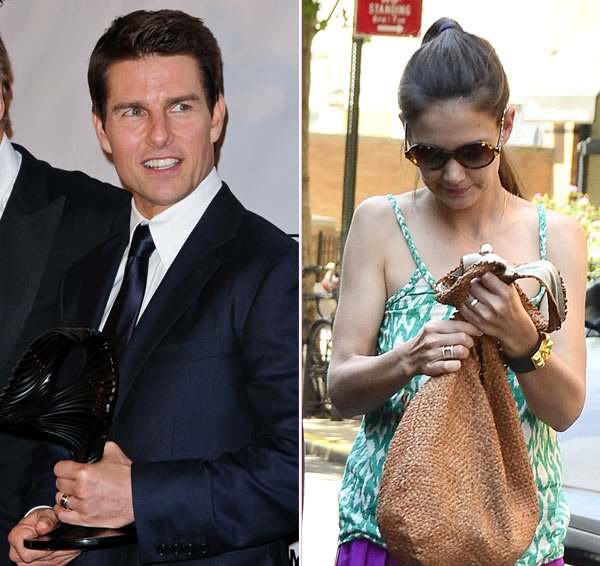 Katie Holmes & Tom Cruise Wore Wedding Rings Up Until Divorce Announcement