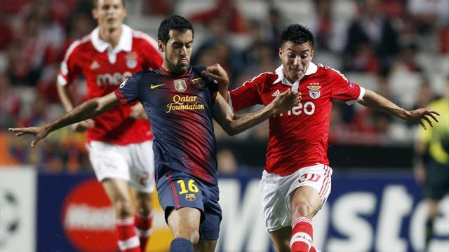Convincing Barcelona brush off Benfica