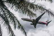 A Malaysia Airlines plane approaches Kuala Lumpur International Airport in Sepang, on August 27, 2014