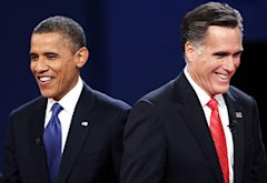 Barack Obama, Mitt Romney | Photo Credits: Win McNamee/Getty Images