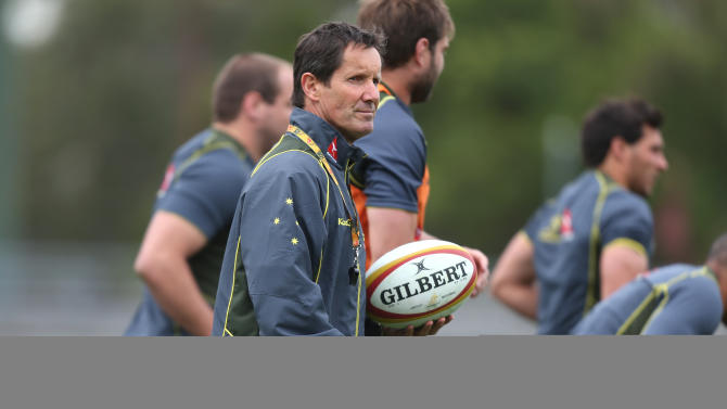 Rugby Union - 2013 British and Irish Lions Tour - Australia Training Session - Ballymore