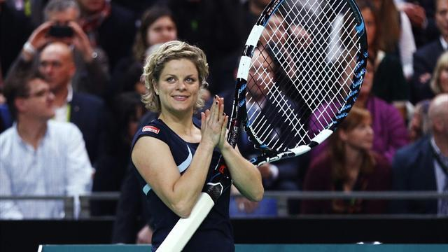 Tennis - Clijsters downs Venus to sign off for good