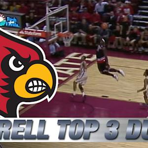 Montrezl Harrell Top 3 Incredible Dunks for Louisville vs FSU