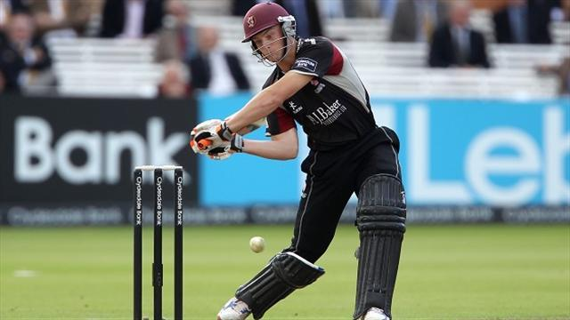 County - Buttler smashes Somerset to win