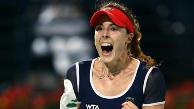 Tennis - Cornet outlasts Giorgi to secure Katowice title