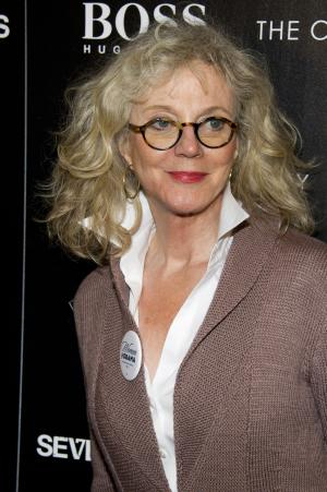 "FILE - This Oct. 10, 2012 file photo shows actress Blythe Danner at a screening of the ""Seven Psychopaths"" hosted by The Cinema Society and Hugo Boss in New York. Danner is jumping into the Broadway show ""Nice Work If You Can Get It,"" playing the mother of Matthew Broderick's wealthy playboy character. Danner assumes the role currently being played by Academy Award-winner Estelle Parsons on Dec. 18. She'll play it for 12 weeks through March 10. (Photo by Charles Sykes/Invision/AP, file)"