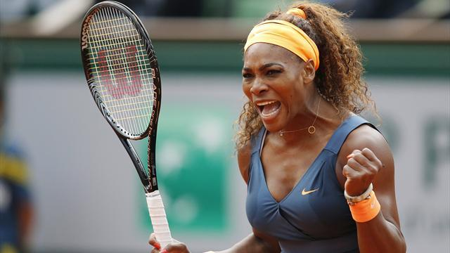 French Open - Serena talks the talk, but not about tennis